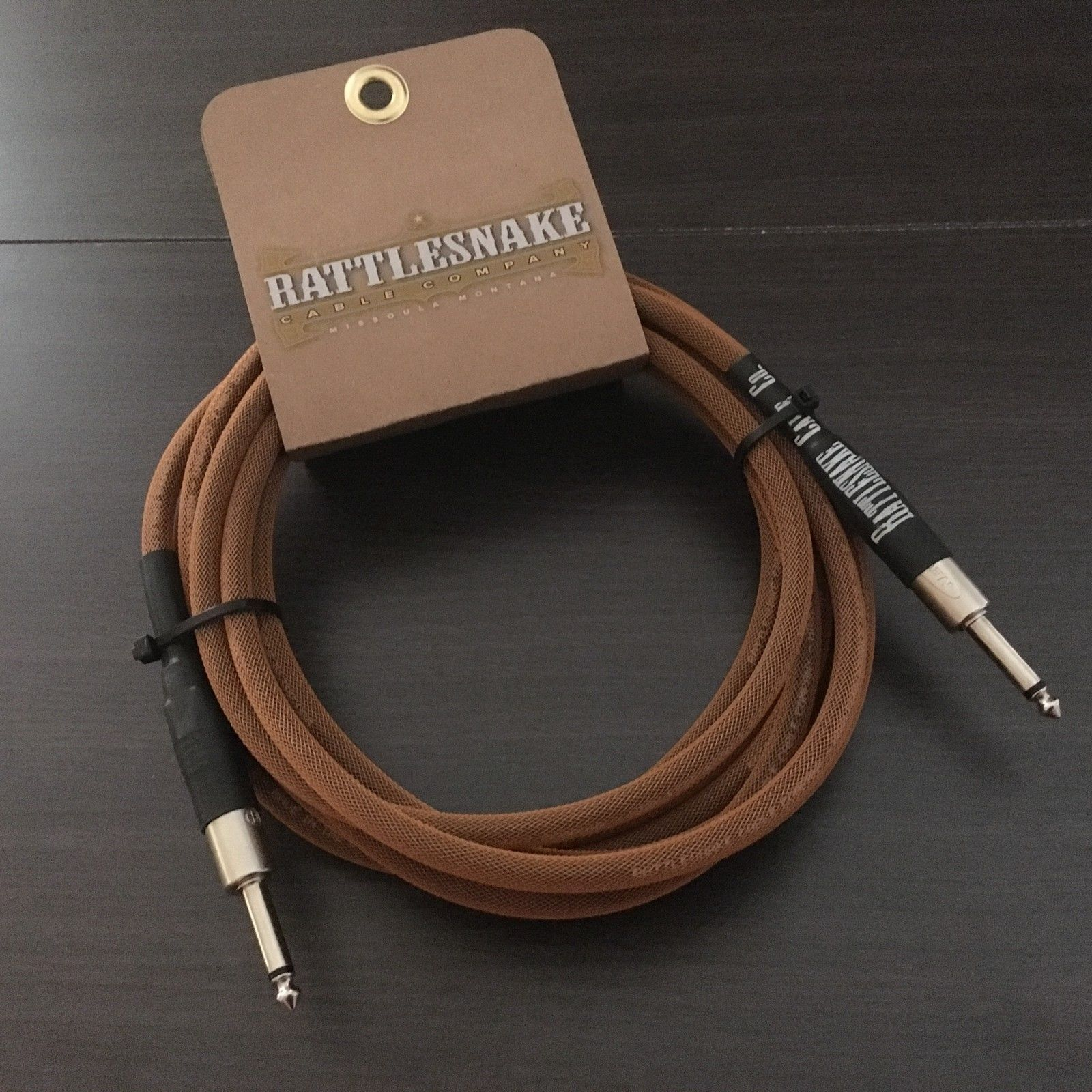 RATTLESNAKE CABLES 15′ Guitar Cable Straight to Straight – Custom ...
